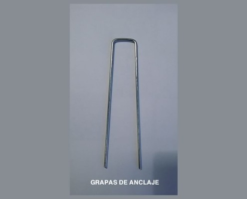 Grapas de anclaje para césped artificial